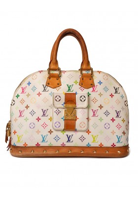 LOUIS VUITTON Alma GM Multicolore Weiss