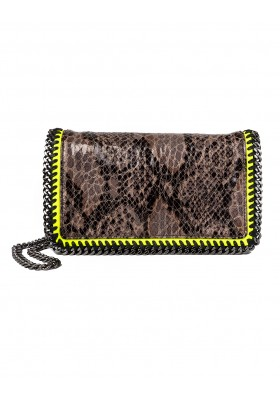 STELLA MC CARTNEY Falabella Bag faux Python Crossbody