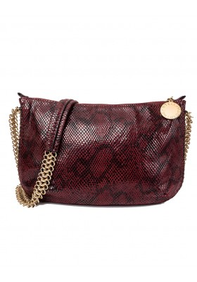 STELLA MC CARTNEY Bailey Boo Bag faux Python Crossbody