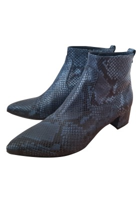 RUSSELL & BROMLEY Snakeskin Ankle Boots