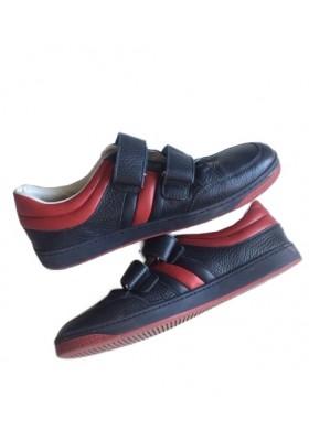 GUCCI Sneaker Blau Rot Gr. 37. Guter Zustand.