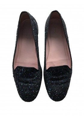 PRETTY BALLERINAS Glitzer Loafer Gr. 35.5