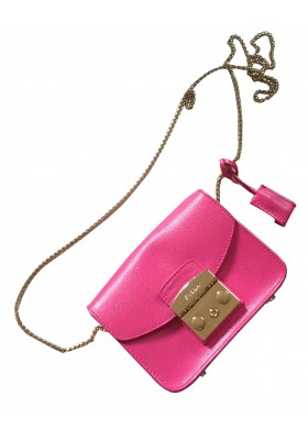 FURLA Metropolis Mini Crossbody bag pink