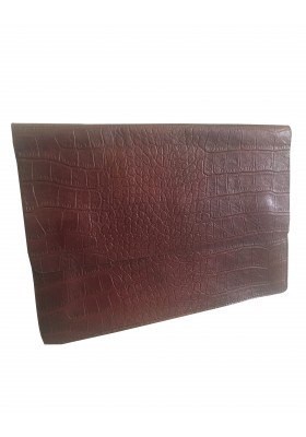 MAISON KITSUNE Clutch bordeaux