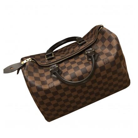 Louis Vuitton Speedy 30 Handtasche Damier Ebene