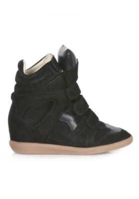ISABEL MARANT Wedges Sneaker schwarz