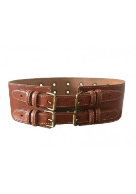 Mulberry Double Buckle Belt