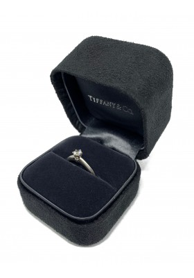 TIFFANY Solitaire Platin Ring
