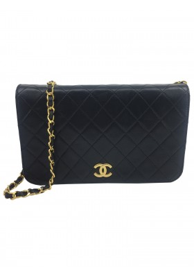 Chanel Single Flap Bag Schwarz Black