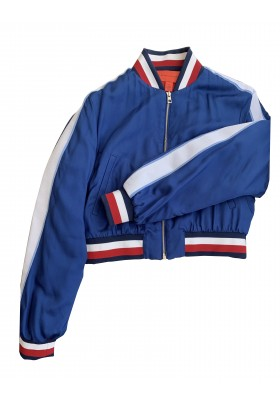 HILFIGER COLLECTION Bomberjacke blau Gr. 34