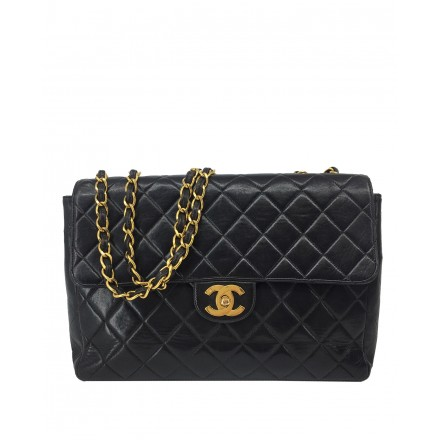 CHANEL black Jumbo Flap Bag