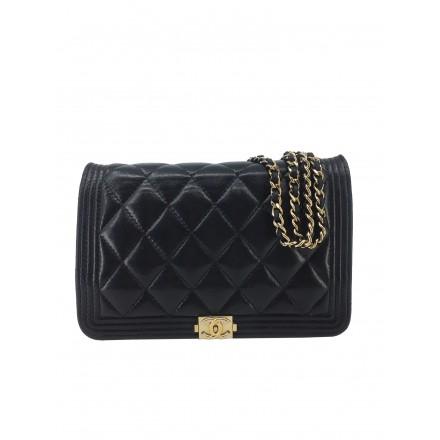 Chanel Boy Wallet on Chain