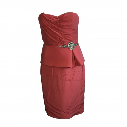 MARCHESA NOTE Minikleid rot.