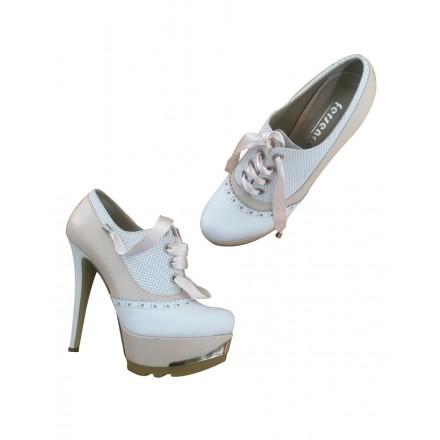 FERSENGOLD Plateau Ankle Boots Gr. 39