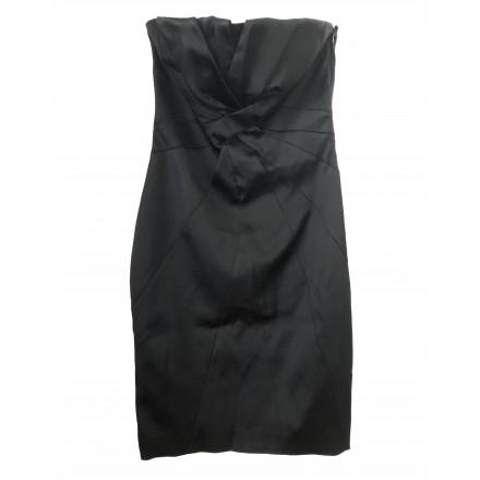 KAREN MILLEN Abendkleid schwarz Gr. 42