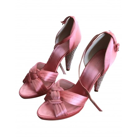 KAREN MILLEN High Heels Satin Gr. 41