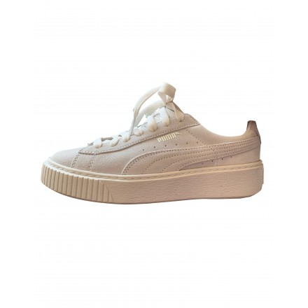 PUMA Sneaker Wildleder weiss