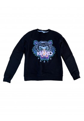 KENZO Tiger Sweater Pullover schwarz Gr. XS