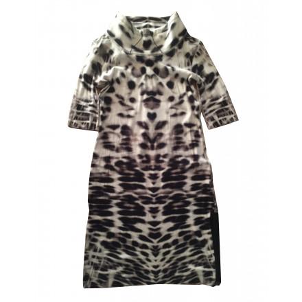 MARC CAIN Kleid Animalprint Gr. 38