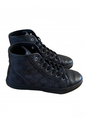 Ace Hightop Leinen Sneakers