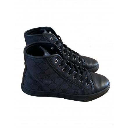 Ace Hightop Leinen Sneakers