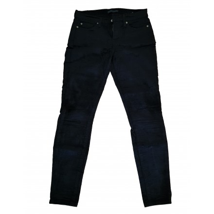 7 FOR ALL MANKIND Cord Jeans schwarz Gr. 27