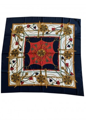 Hermès Stofftuch Seidentuch Silk Scarf
