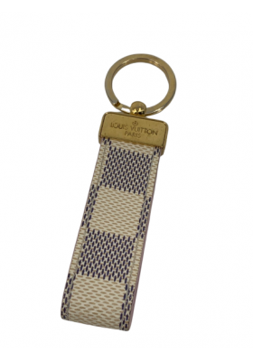 Louis Vuitton Schlüsselanhänger Damier Azur Ebene