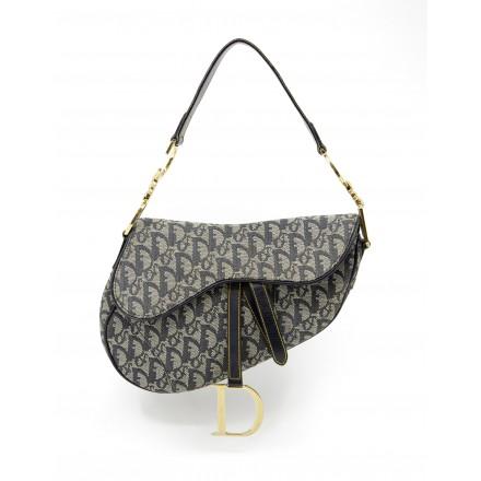CHRISTIAN DIOR Saddle Bag Dior Oblique