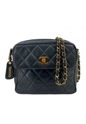 Chanel Camera Bag dunkel blau