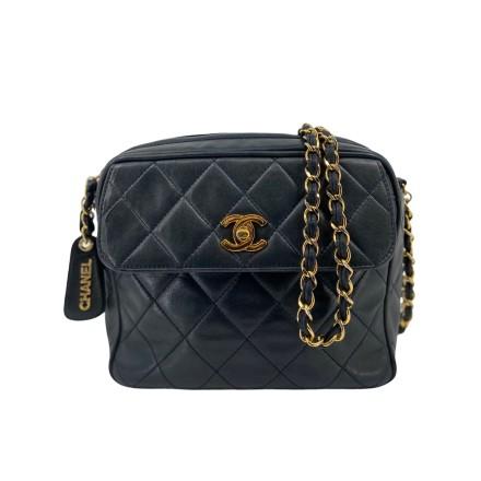 Chanel Camera Bag dunkel blau
