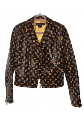 Louis vuitton Monogramm biker jacket