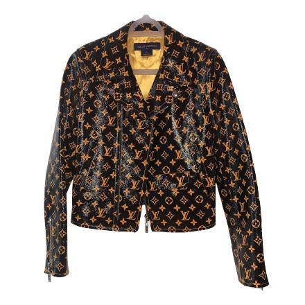 Louis vuitton Monogramm biker jacket