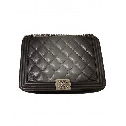 CHANEL Boy Bag large degrade leather