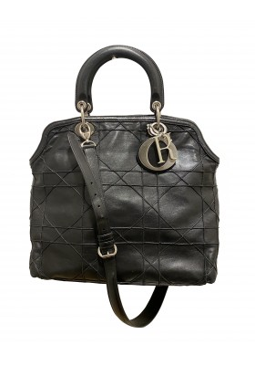 DIOR Grandville Tasche schwarz silber