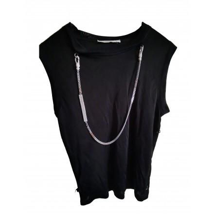CHRISTIAN DIOR Shirt / Top schwarz Gr. 36
