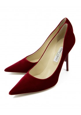 JIMMY CHOO Velvet Pumps Gr. 42
