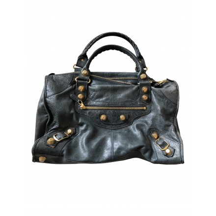 BALENCIAGA Giant City Bag petrol