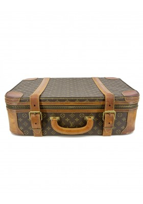 LOUIS VUITTON Stratos 60 Vintage luggage Monogram Reisekoffer