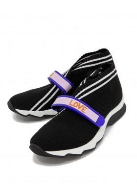 FENDI Sneaker schwarz