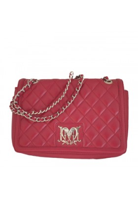 Moschino Handtasche rot
