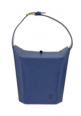 LOUIS VUITTON Sac Seau Epi Leder blau