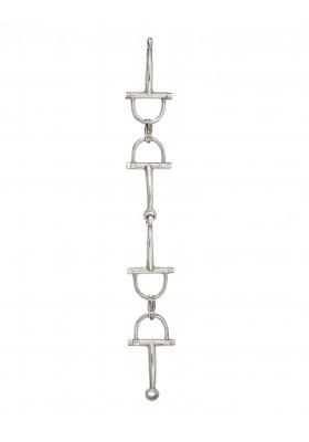 HERMES Rare Horsebit Vintage Armband 925er Silber