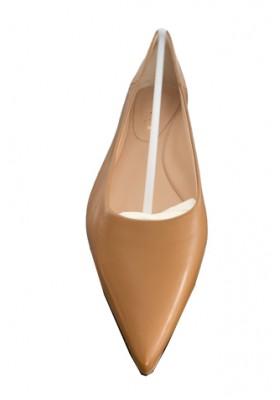UNÜTZER Ballerina. Camel. NEU. Gr. 37.5.