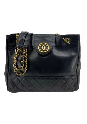 CHANEL Tote Bag Black SCHWARZ