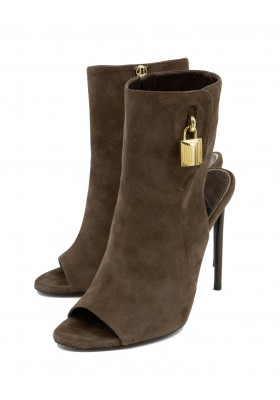 TOM FORD Suede High Heels 40