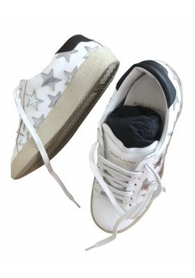 SAINT LAURENT Signature Star Sneakers
