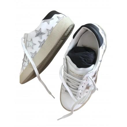 SAINT LAURENT Signature Star Sneakers