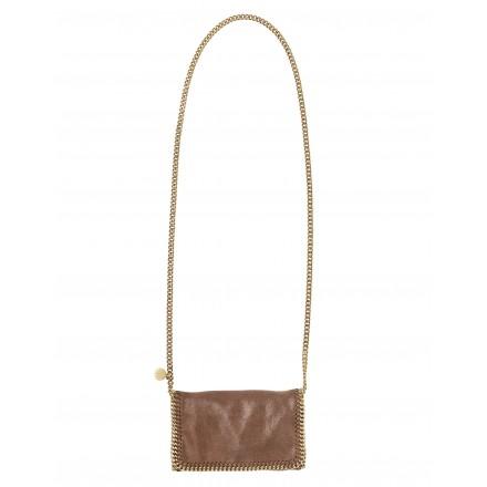 Stella McCartney FALABELLA Crossbody Bag braun klein