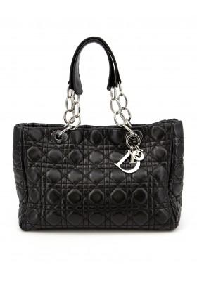 DIOR Soft Leather Tote Bag schwarz